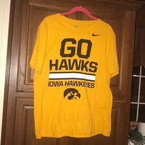 Nike Iowa Hawkeyes NCAA Shirt XL